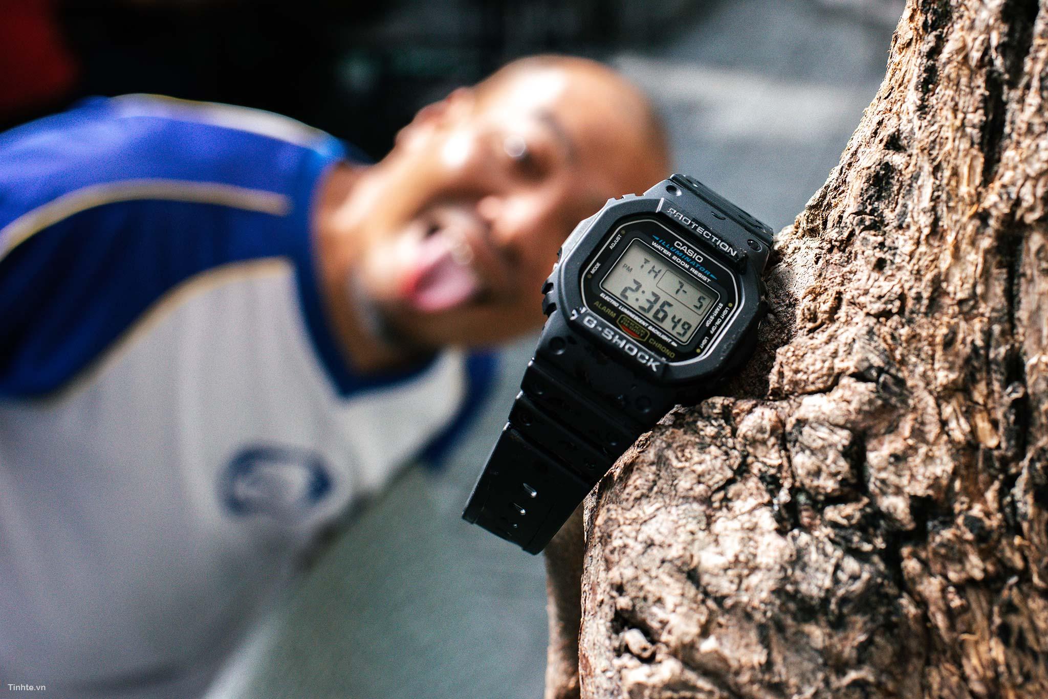 Đồng hồ Casio G-Shock DW-5600E: đơn giản, gọn nhẹ mà lại rẻ