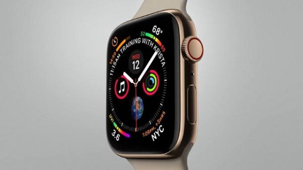 mặt bên phải apple watch series 4