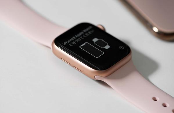 mặt bên trái apple watch series 4