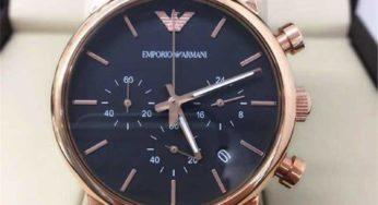 Đồng hồ Emporio Armani dành cho các cánh mày râu