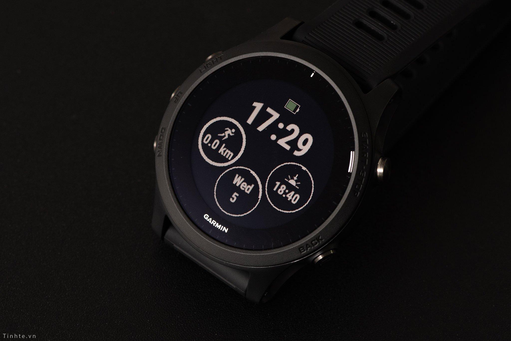 Review đồng hồ GPS tốt nhất cho chạy bộ Forerunner 945